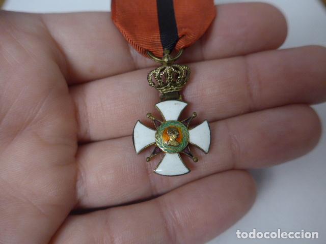Militaria: Antigua medalla al merito contraido, 1834, epidemias. Original y rara. - Foto 2 - 234772165