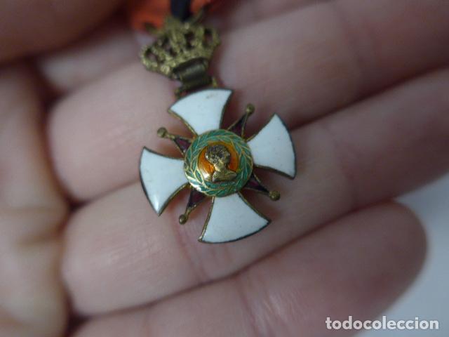Militaria: Antigua medalla al merito contraido, 1834, epidemias. Original y rara. - Foto 3 - 234772165