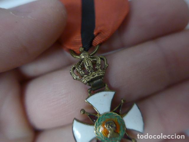 Militaria: Antigua medalla al merito contraido, 1834, epidemias. Original y rara. - Foto 4 - 234772165