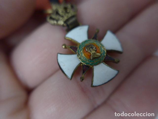 Militaria: Antigua medalla al merito contraido, 1834, epidemias. Original y rara. - Foto 5 - 234772165