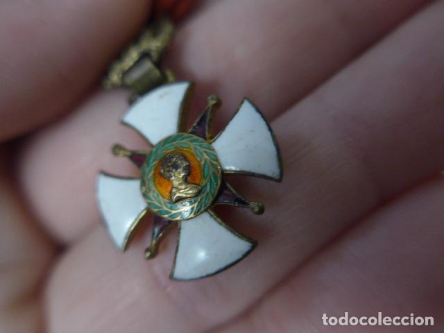 Militaria: Antigua medalla al merito contraido, 1834, epidemias. Original y rara. - Foto 6 - 234772165