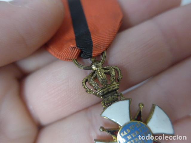 Militaria: Antigua medalla al merito contraido, 1834, epidemias. Original y rara. - Foto 11 - 234772165