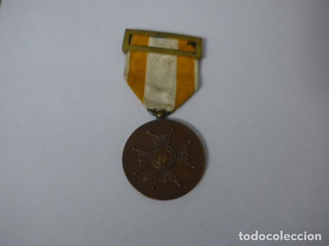 ANTIGUA MEDALLA DE BRONCE DE ISABEL LA CATOLICA ALFONSINA, ORIGINAL, ALFONSO XIII. (Militar - Medallas Españolas Originales )