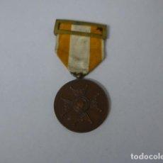 Militaria: ANTIGUA MEDALLA DE BRONCE DE ISABEL LA CATOLICA ALFONSINA, ORIGINAL, ALFONSO XIII.. Lote 234772810