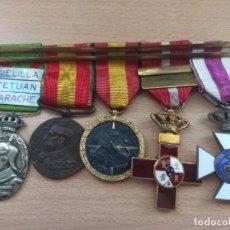 Militaria: PASADOR GUERRA DE ÁFRICA, GUERRA CIVIL. ALFONSO XIII. Lote 234819935