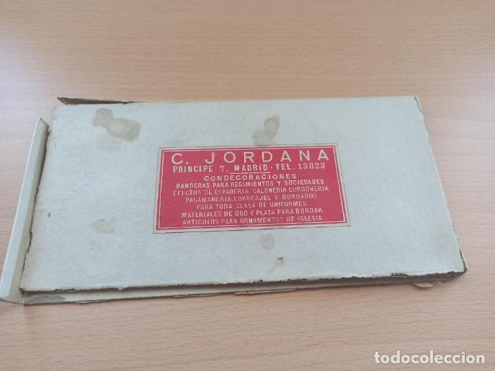 JORDANA. CAJA PARA CONDECORACIONES. (Militar - Medallas Españolas Originales )