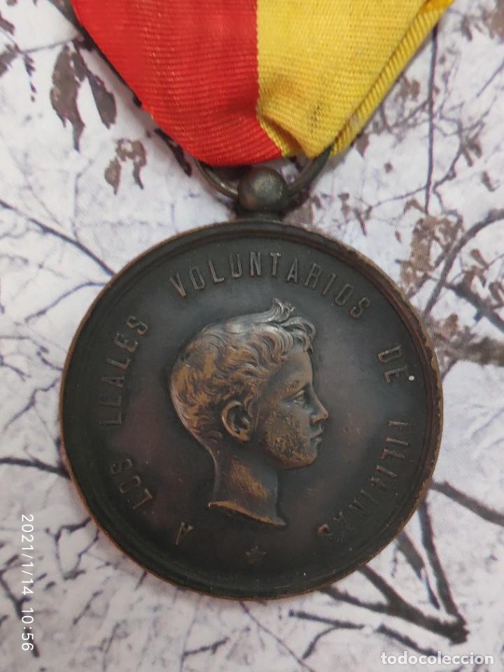 Militaria: MEDALLA CAMPAÑA DE FILIPINAS LUZON 1896 1897 - Foto 2 - 234831080