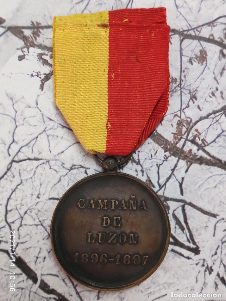 Militaria: MEDALLA CAMPAÑA DE FILIPINAS LUZON 1896 1897 - Foto 3 - 234831080