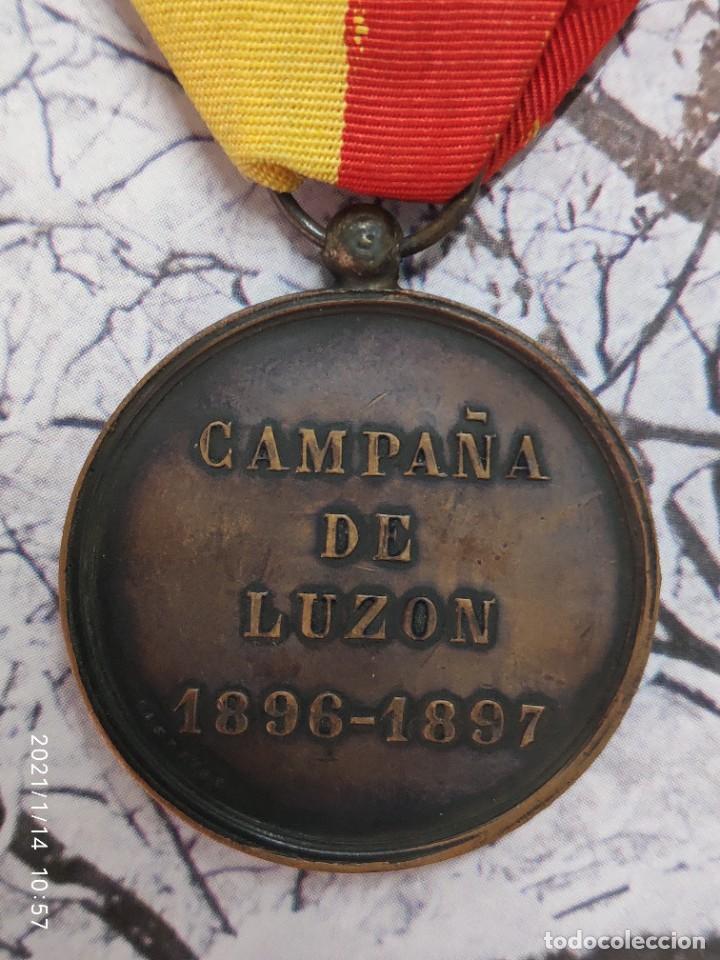 Militaria: MEDALLA CAMPAÑA DE FILIPINAS LUZON 1896 1897 - Foto 4 - 234831080