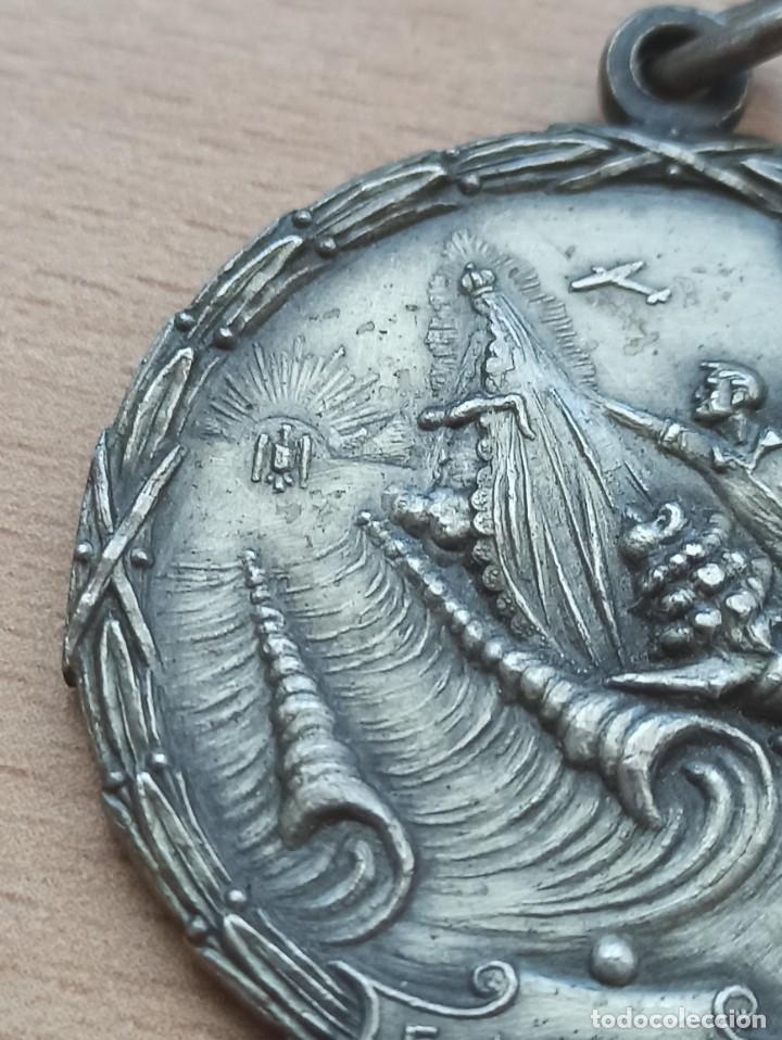Militaria: Difícil medalla del Paso del Estrecho. Guerra Civil - Foto 4 - 234850530