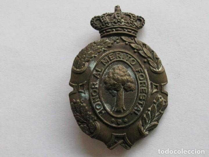 Militaria: INSIGNIA HONOR AL MERITO FORESTAL , EPOCA ALFONSO XIII - Foto 4 - 234909440