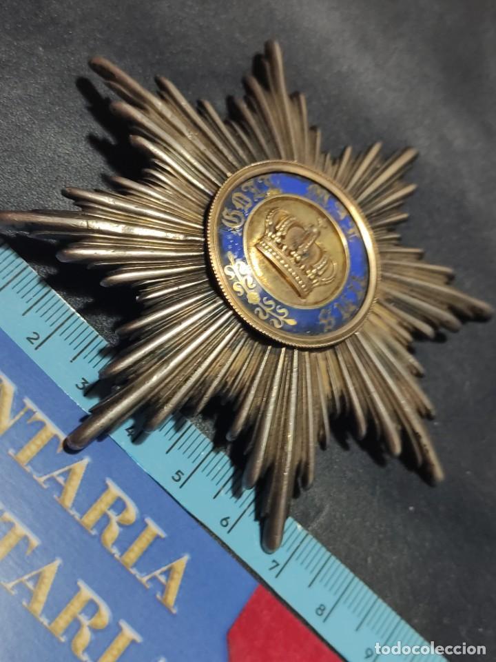 ORDEN DE LA CORONA DE PRUSIA (Militar - Medallas Internacionales Originales)