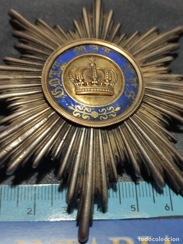 Militaria: Orden de la corona de Prusia - Foto 2 - 235218030