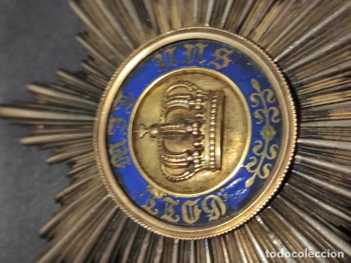 Militaria: Orden de la corona de Prusia - Foto 3 - 235218030
