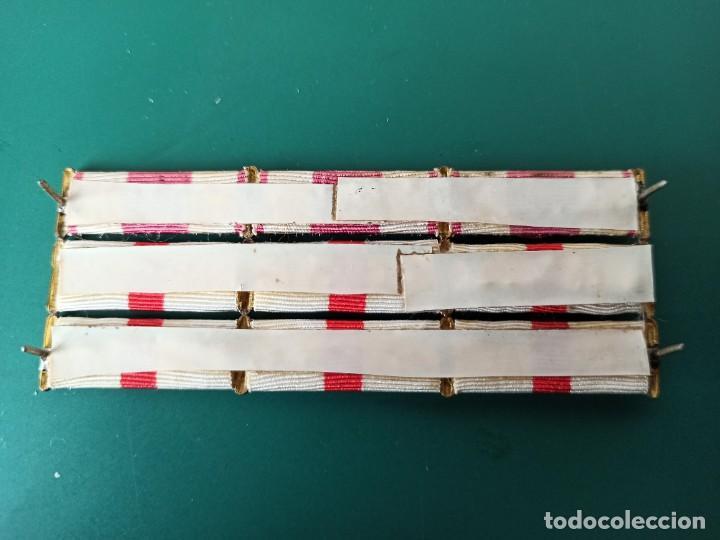 Militaria: Pasador de diario con 9 condecoraciones. - Foto 2 - 235249990