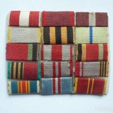Militaria: RUSIA – URSS : PASADOR SOVIÉTICO DE DIARIO 15 CINTAS – VETERANO SEGUNDA GUERRA MUNDIAL: ODESA. Lote 235350930
