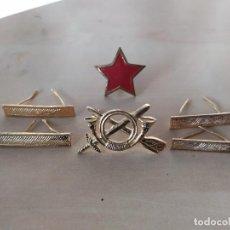 Militaria: LOTE EMBLEMAS GRADUACIÓN REPUBLICA. Lote 236001750