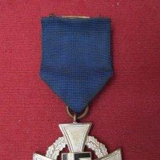 Militaria: CONDECORACIÓN MEDALLA ALEMANA 25 AÑOS DE SERVICIO CATEGORÍA PLATA III REICH ALEMÁN II GUERRA MUNDIAL. Lote 171198904