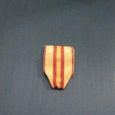 Militaria: CINTA MEDALLA MARÍA CRISTINA TROPA. Lote 237388630