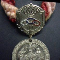 Militaria: MASONERIA - GRAN CORDON DE LA ORDEN DE LOS ODD FELLOWS. Lote 237644610