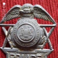 Militaria: MUY ANTIGUA PLACA DE POLICIA BADGE WEST VIRGINIA ESTADOS UNIDOS. Lote 240515985