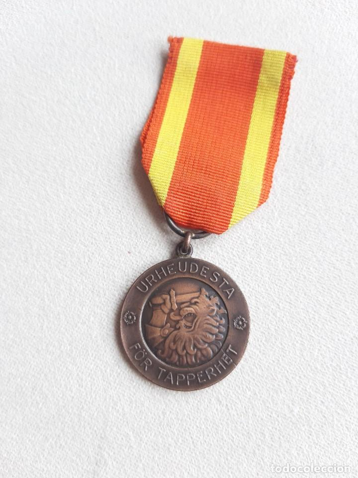 WW2. FINLANDIA. MEDALLA DE LA LIBERTAD. GUERRA DE INVIERNO. 1939 (Militar - Medallas Internacionales Originales)