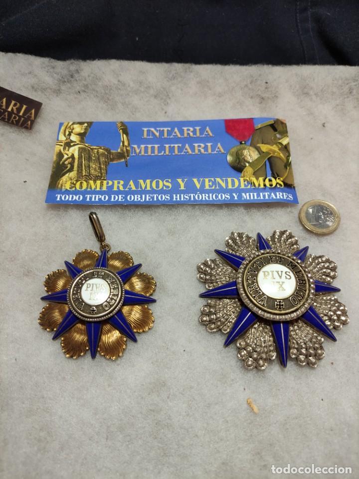 ORDEN AL MÉRITO DEL VATICANO (Militar - Medallas Extranjeras Originales)