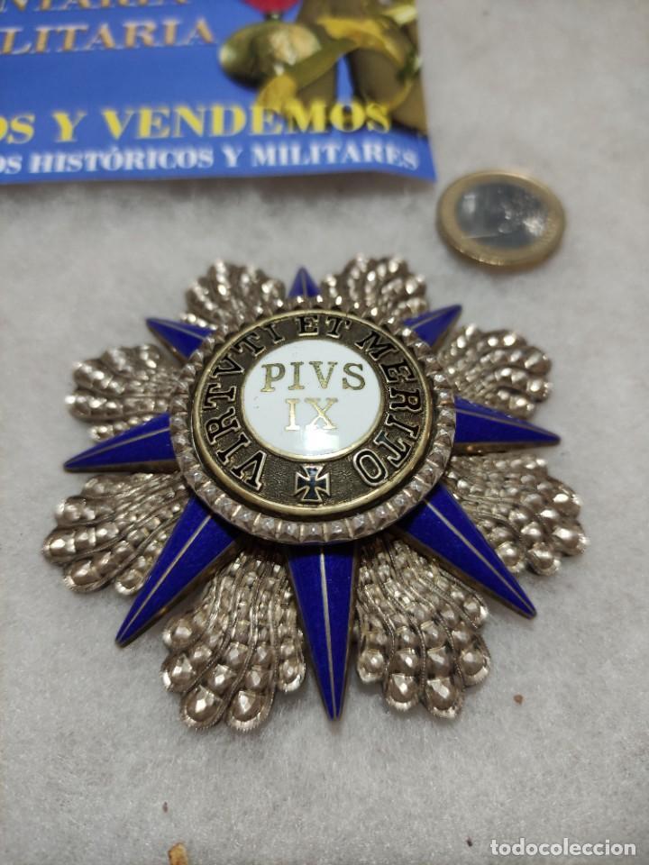 Militaria: Orden al mérito del Vaticano - Foto 2 - 242873715