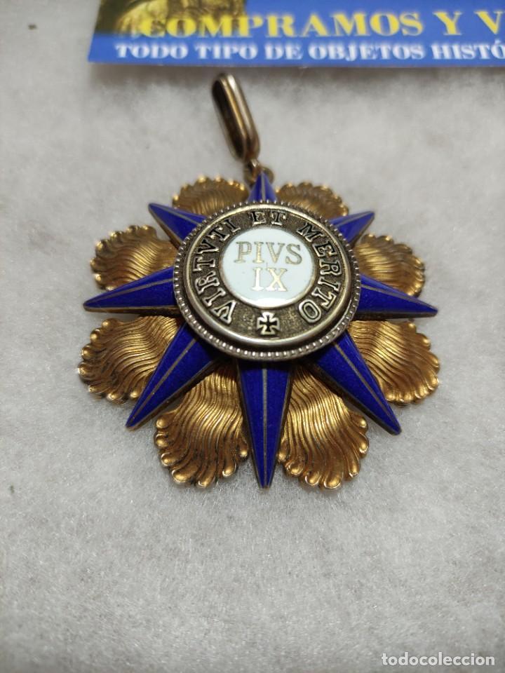 Militaria: Orden al mérito del Vaticano - Foto 3 - 242873715
