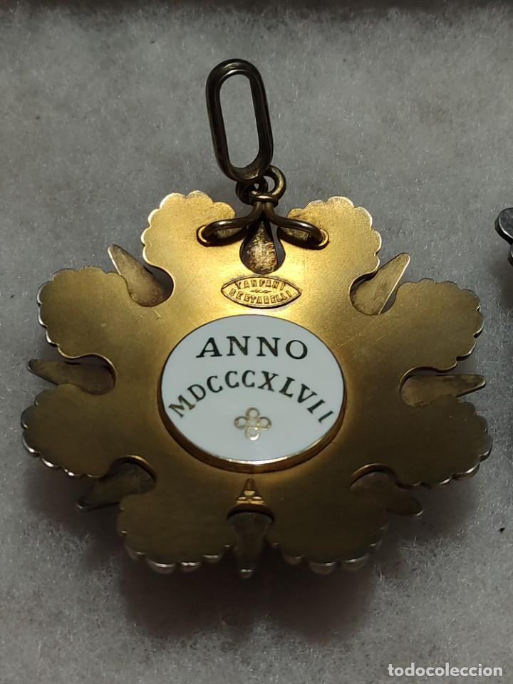 Militaria: Orden al mérito del Vaticano - Foto 5 - 242873715