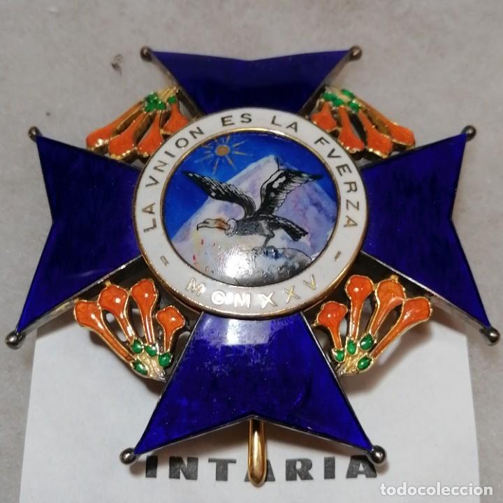 ORDEN AL MÉRITO DEL CONDOR DE BOLIVIA (Militar - Medallas Extranjeras Originales)