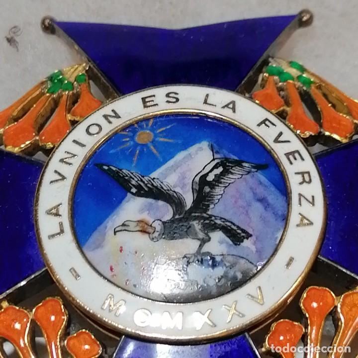 Militaria: Orden al mérito del Condor de Bolivia - Foto 3 - 242935330