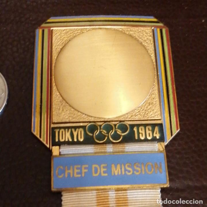 Militaria: Medalla de Jefe de delegación olímpica en Japón 1964 - Foto 3 - 242936215
