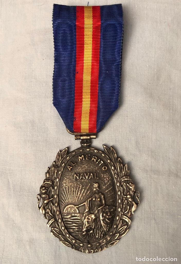 MEDALLA MILITAR INDIVIDUAL NAVAL 1970 (Militar - Medallas Españolas Originales )