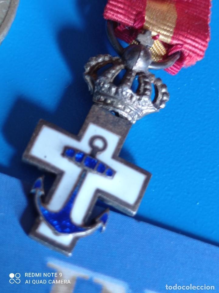 Militaria: Orden del mérito naval en miniatura - Foto 2 - 243386000