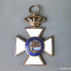 Militaria: MEDALLA ESMALTADA DE SAN HERMENEGILDO DE LA ÉPOCA DE ALFONSO XIII. Lote 243600990