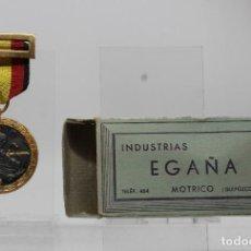 Militaria: MEDALLA DE LA CAMPAÑA 1936 1939 GUERRA CIVIL LEGION CONDOR EGAÑA ORIGINAL CON CAJA. Lote 243764605