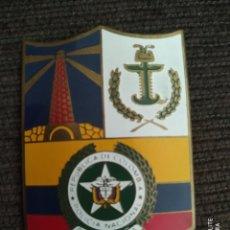 Militaria: AUTENTICA ORIGINAL PLACA POLICIA DE COLOMBIA DISTINTIVO POLICIAL SUDAMERICA. Lote 243920890