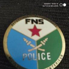 Militaria: INSIGNIA PLACA DE POLICIA DISTINTIVO POLICIAL DE DJIBUTI AFRICA. Lote 243921320