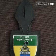 Militaria: PLACA INSIGNIA PEPITO DE LA POLICIA DE CAMERUN AFRICA. Lote 243922115
