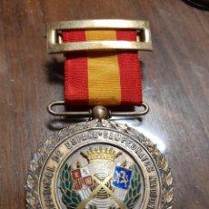 Militaria: MEDALLA TIRADOR MILITAR. ÉPOCA DE FRANCO. ESMALTADA. Lote 244794005