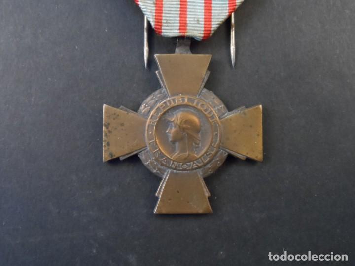 MEDALLA CROIX DU COMBATTANT. REPUBLICA FRANCESA. AÑOS 1939-45 (Militar - Medallas Internacionales Originales)