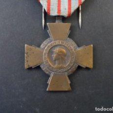 Militaria: MEDALLA CROIX DU COMBATTANT. REPUBLICA FRANCESA. AÑOS 1939-45. Lote 245254680