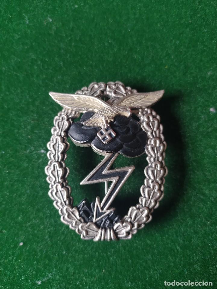 PLACA DE ASALTO TERRESTRE DE LA LUFTWAFFE. ALEMANIA NAZI (Militar - Reproducciones y Réplicas de Medallas )