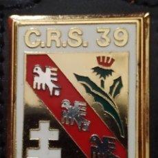 Militaria: PEPITO PLACA INSIGNIA DE POLICIA NACIONAL CRS .DISTINTIVO POLICIAL FRANCIA. Lote 246078875