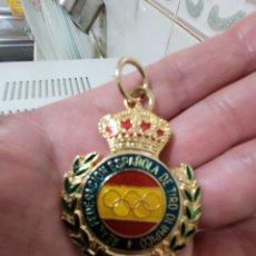 Militaria: MEDALLA FEDERACIÓN TIRO OLÍMPICO. Lote 246169845