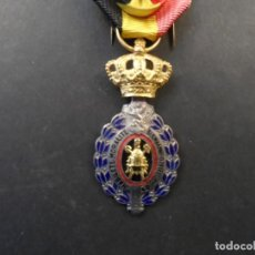 Militaria: MEDALLA HABILETE ETE MORALITE. REINO DE BELGICA. 30 AÑOS DE TRABAJO. 1ª CLASE.BILINGUE.SIGLO XX. Lote 246499345