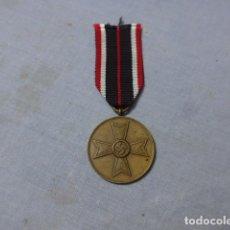 Militaria: * ANTIGUA MEDALLA ALEMANA ORIGINAL, CRUZ DE GUERRA SIN ESPADAS, II GUERRA MUNDIAL. ALEMANIA. ZX. Lote 246569420