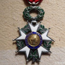 Militaria: FRANCIA. LEGIÓN DE HONOR IV REPÚBLICA. CABALLERO. PLATA. Lote 246878485