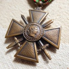 Militaria: FRANCIA. CRUZ DE GUERRA MODELO 1939 1945 WW2. Lote 246882285